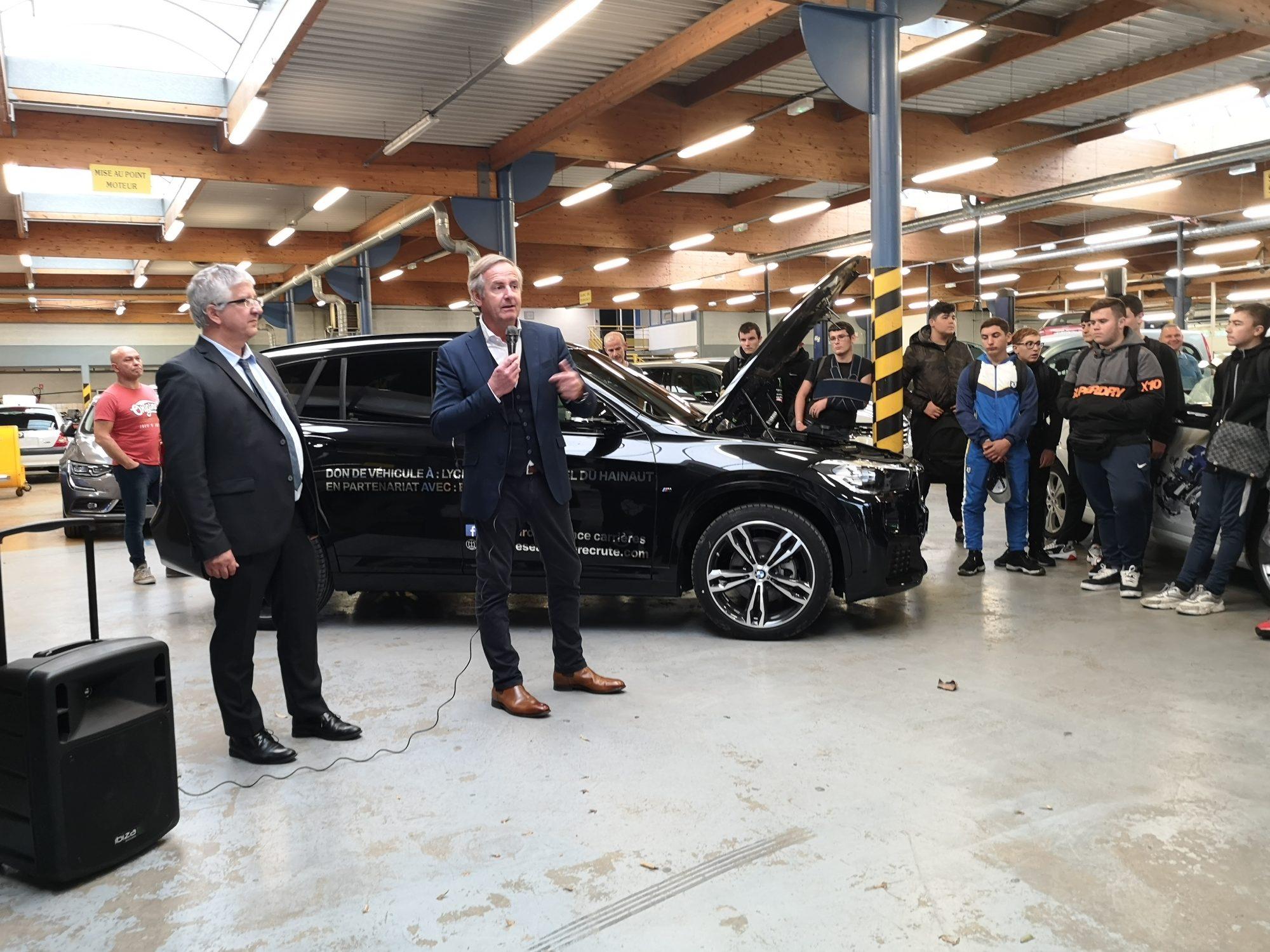 Remise véhicule BMW